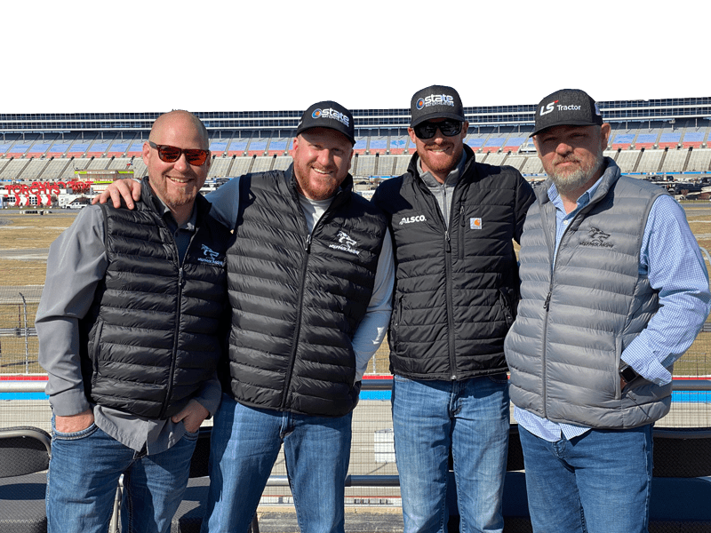 Wolfpack Racing at Race Track