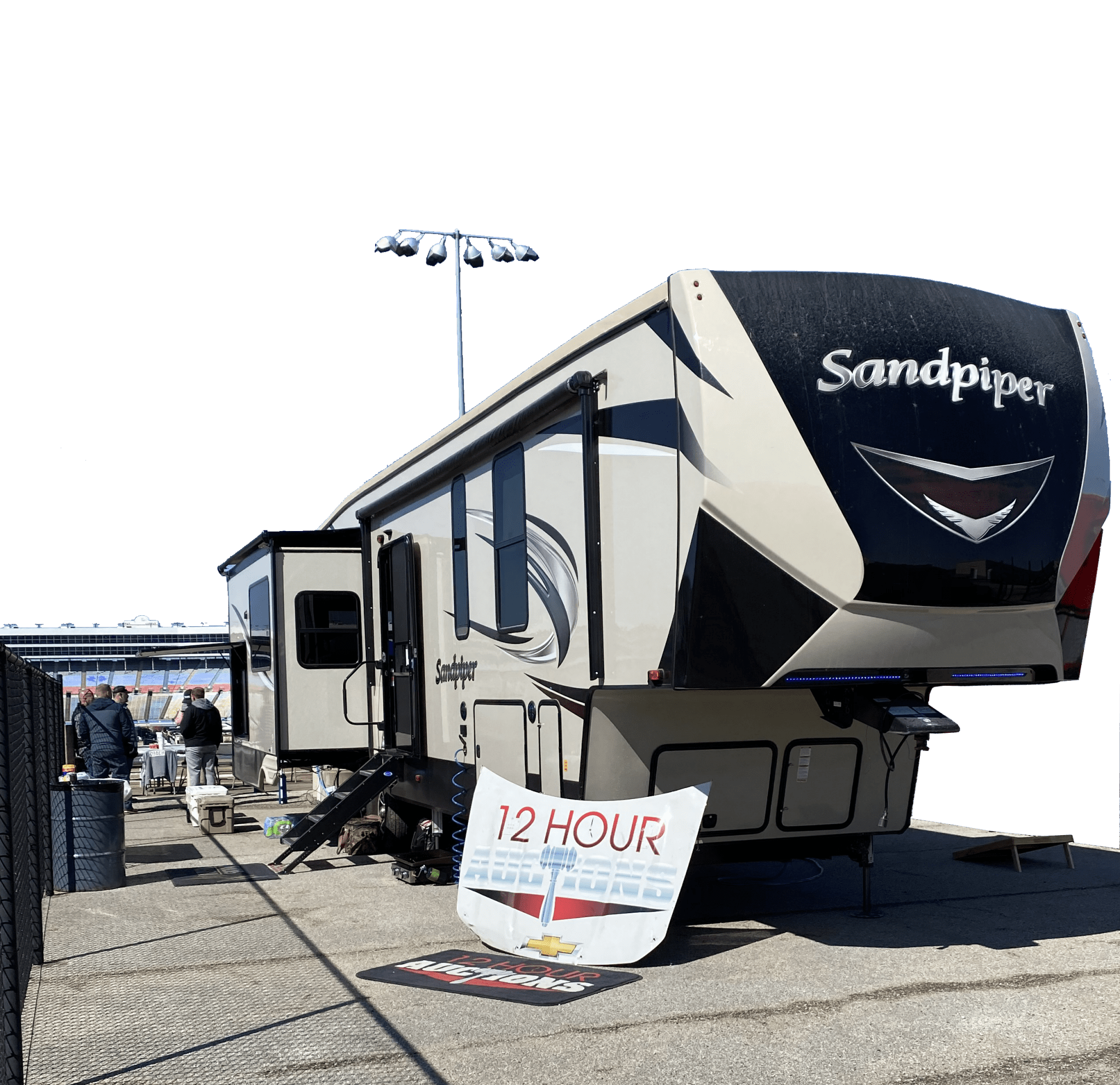 RaceDay Hospitality Camper