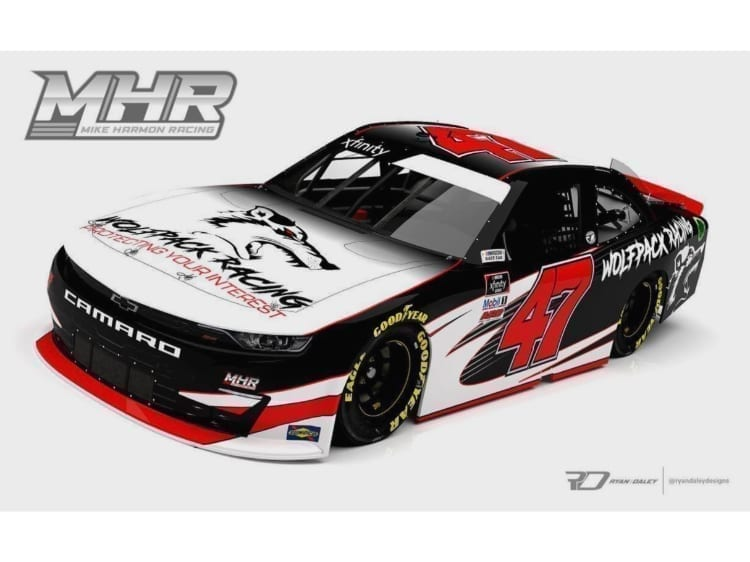 MHR Wolfpack Racing Car