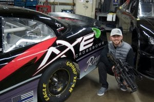 Kyle with Axe Crossbows at Credit Karma Money 250