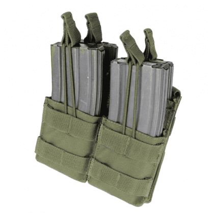 Condor-double-stacker-open-top-m4-mag-pouch-olive-drab