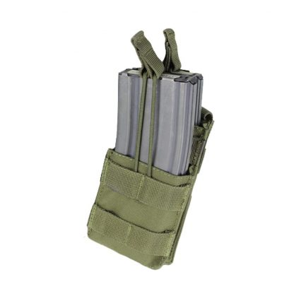Condor-ma42-single-m4-open-top-stacker-mag-pouch-olive-drab