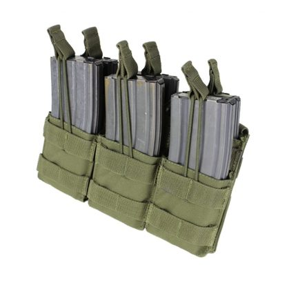 Condor-triple-stacker-open-top-m4-mag-pouch-olive-drab