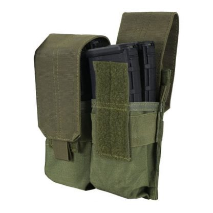 Condor-ma4-double-m4-mag-pouch-olive-drab-front