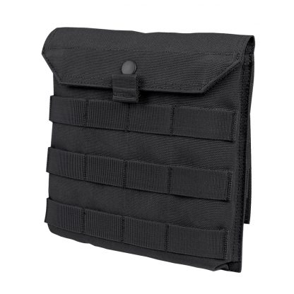 Side Plate Pouch Front Black