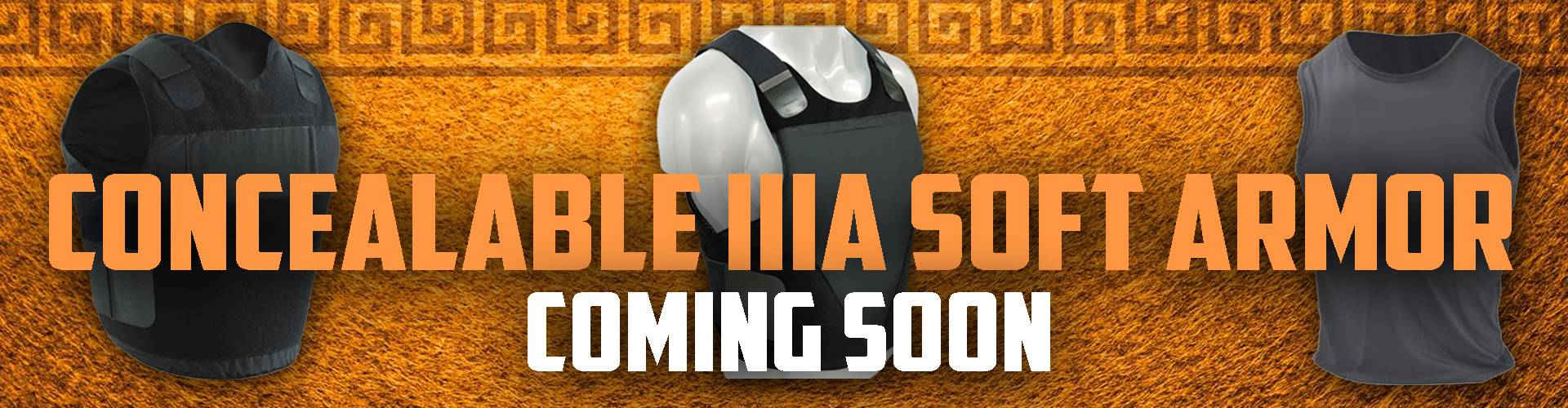 Concealable Soft Armor Coming Soon